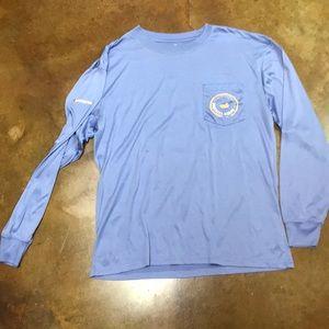Southern Marsh long sleeve pocket shirt